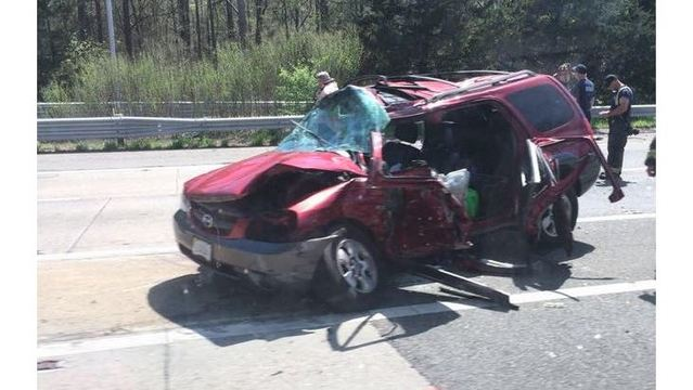 Midlothian woman killed on I-95 after turning into oncoming