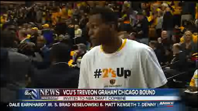 VCU's Graham invited to NBA Draft Combine; Wade talks recruits