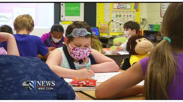 Chesterfield County 3rd Grader Returns To School After Battle With