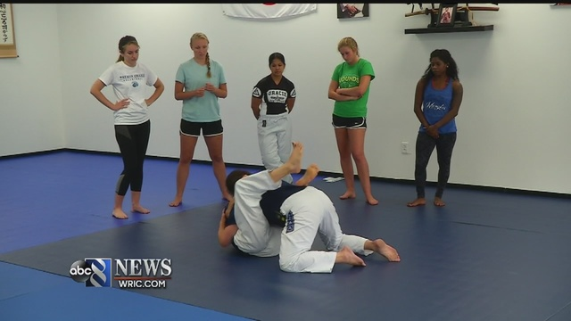 Back to school: Class teaches campus self-defense