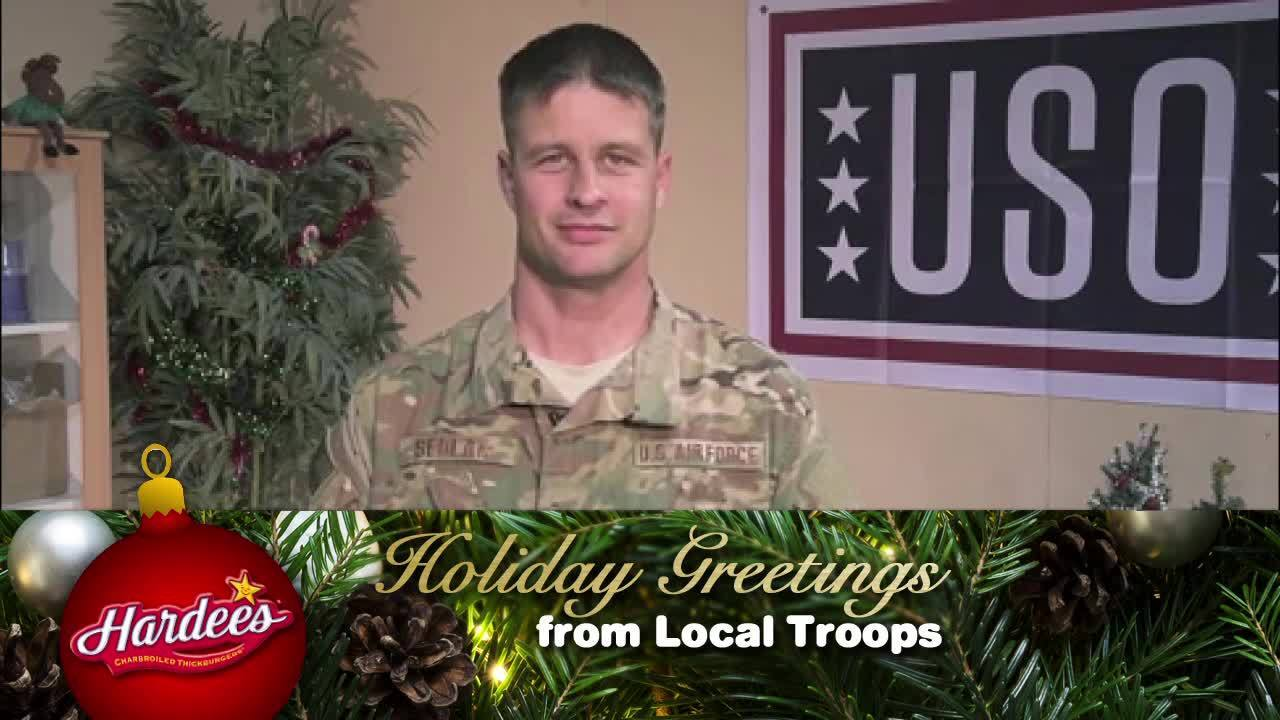 Holiday Greetings From Local Troops Sr Master Sergeant Jeremy Sedlak