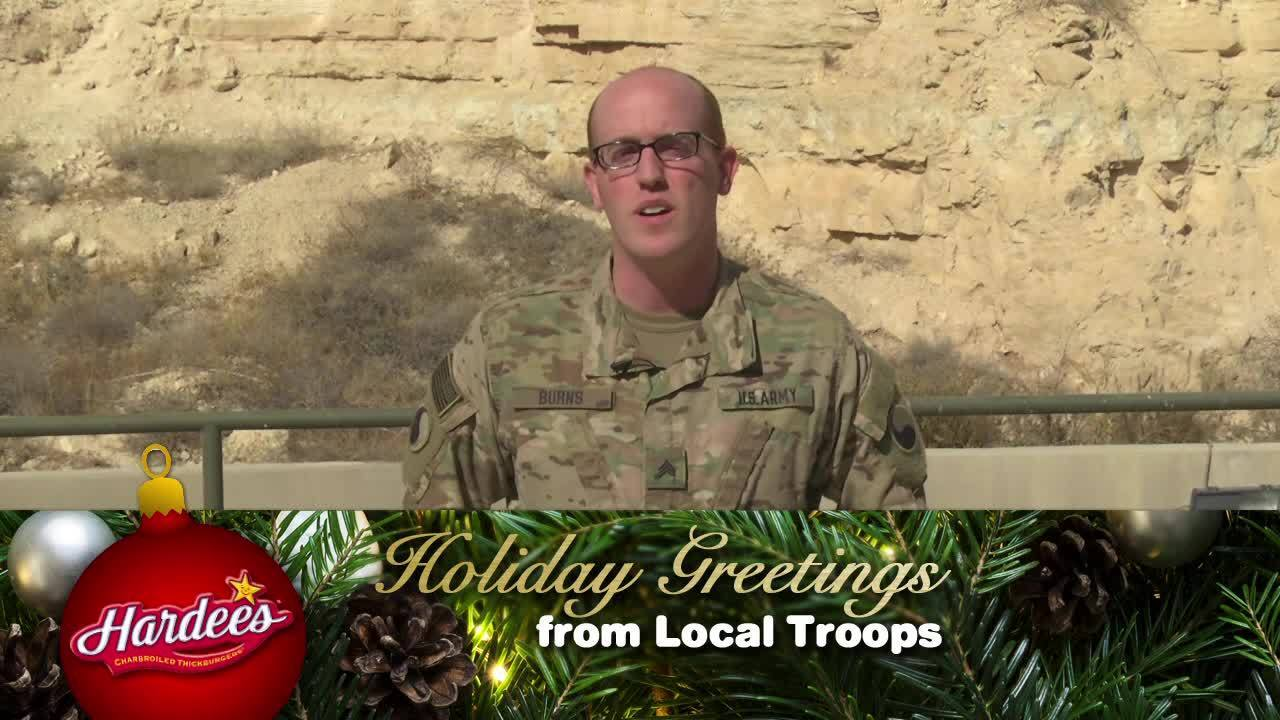 Holiday Greetings From Local Troops Sean Joseph Burns