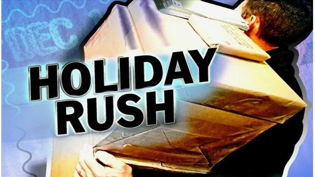 less than a week until christmas monday marks the busiest shipping day of the year - What Day Of The Week Is Christmas On