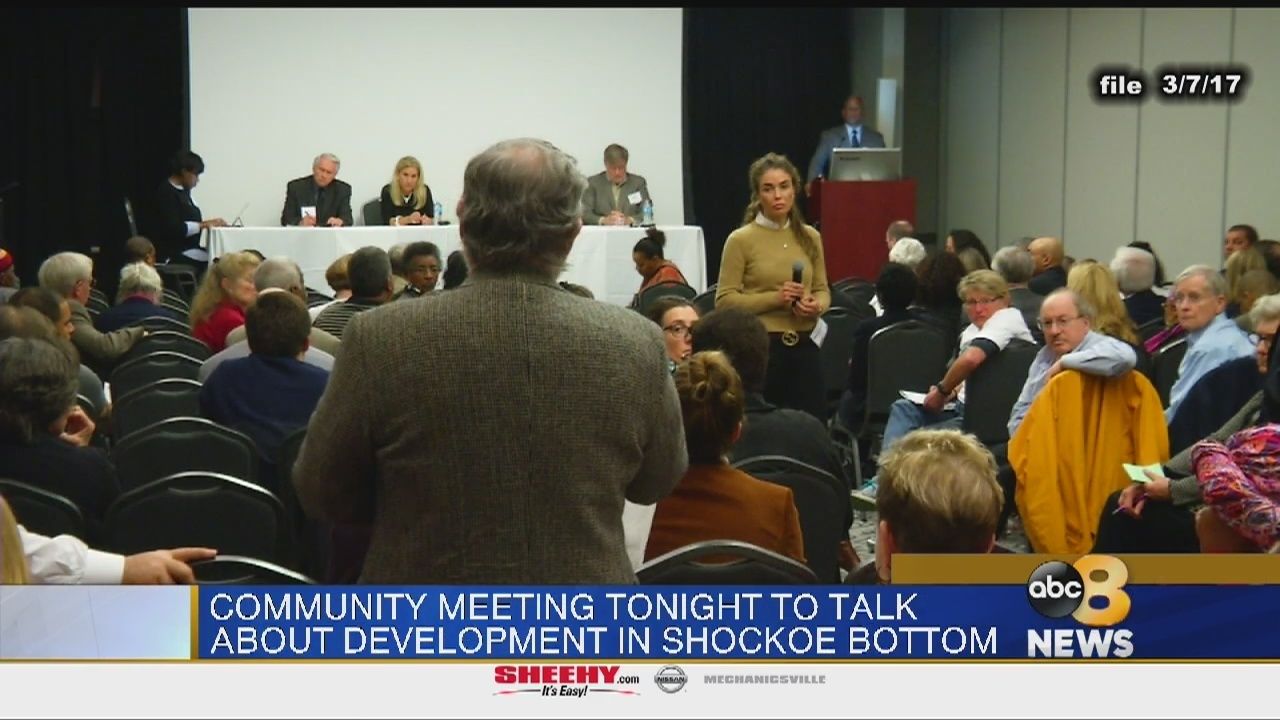 Meeting Monday to discuss ongoing projects in Shockoe Bottom