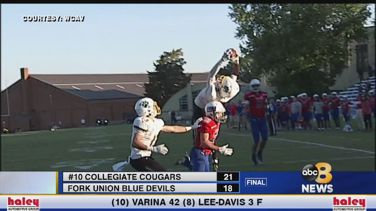 8Sports Blitz Week 8: #10 Collegiate 21 Fork Union 18 - WRIC