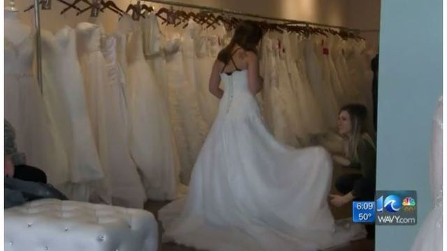 Virginia Beach bridal shop gives free dresses to military women ...