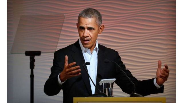 Former President Barack Obama: 'Think before you tweet'