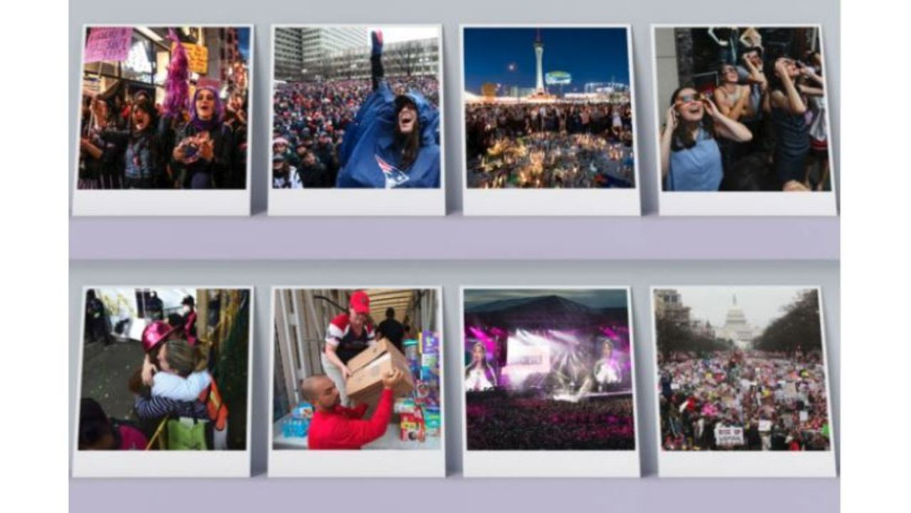 Facebook publishes 2017 Year in Review recapping major
