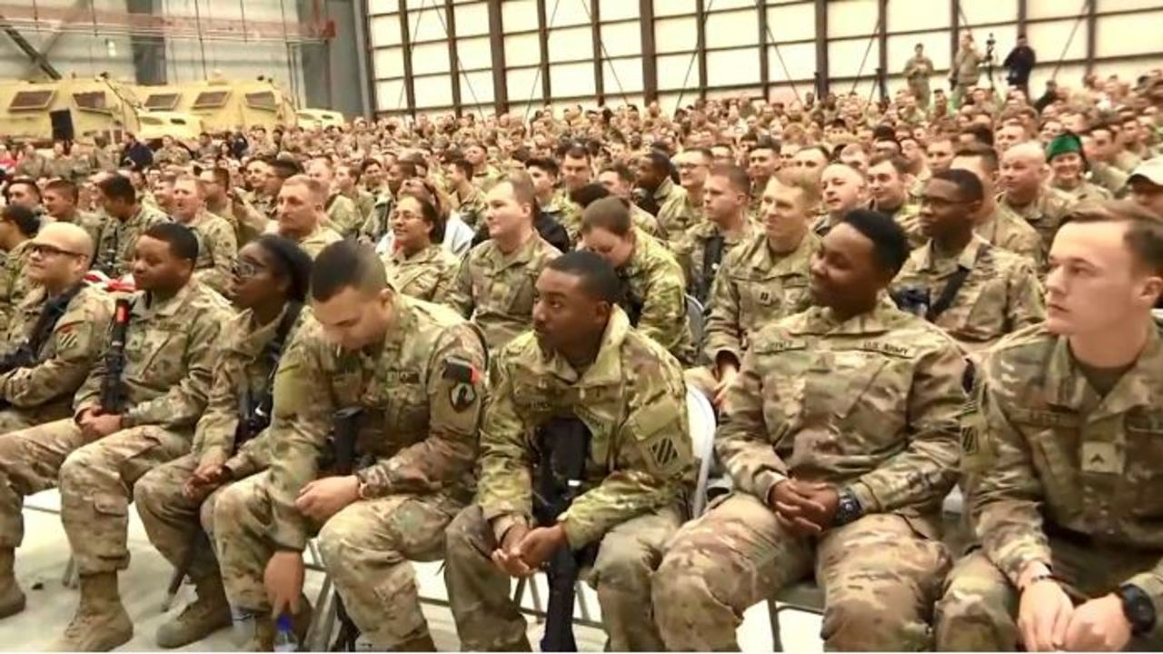 WATCH: US soldiers celebrate Christmas in Afghanistan