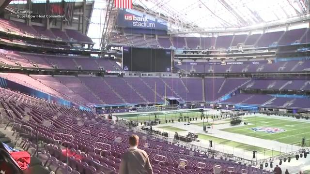 US Bank Stadium is ready for the big game