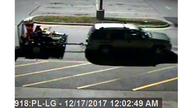 Suspects get away with several expensive items from area Lowes