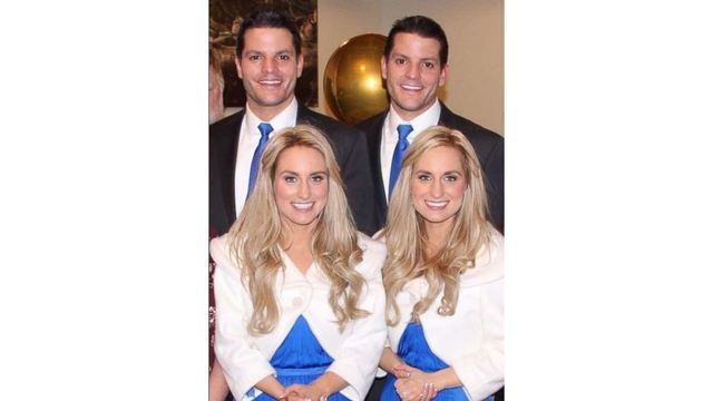 double couples 2 sets of identical twins to marry