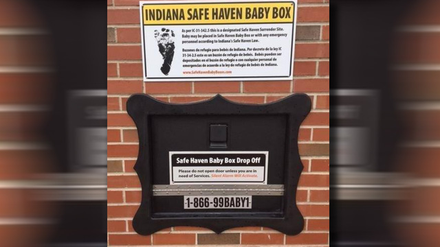 Indiana Safe Haven Baby Box Welcomes Second Child in Five Months