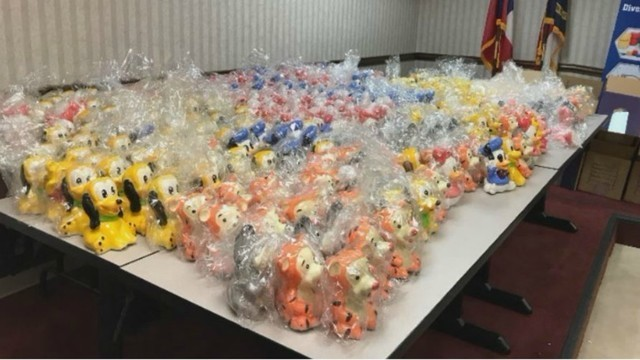 500 lbs. of meth worth $2M found in Disney figurines