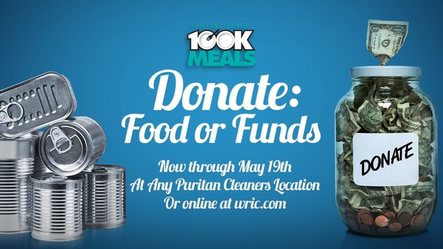 Donate to 100K Meals Campaign