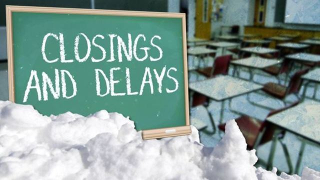REGISTER: 8News closings and delays