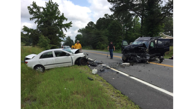 One dead after two-vehicle crash in Caroline County