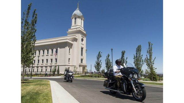 Born to be mild: Mormon motorcycle club holds Utah rally