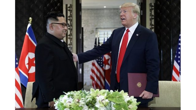 NKorea says Trump OKs gradual disarmament