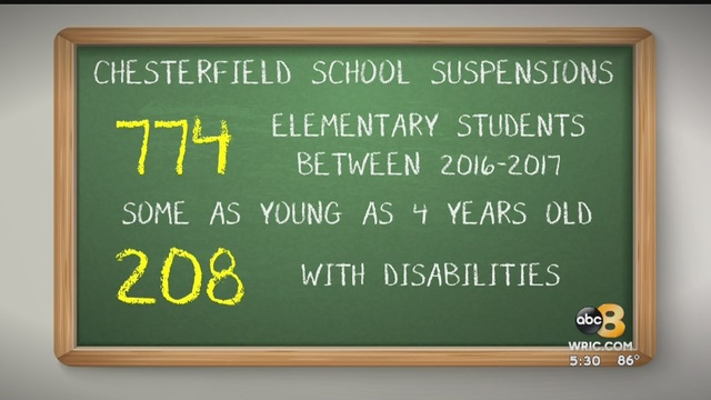 Alarming Suspension Rates At Chesterfield Elementary Schools