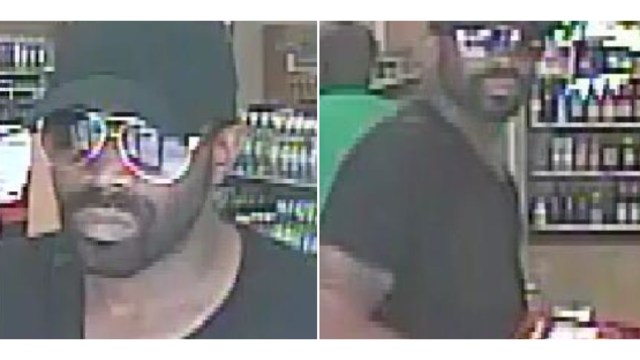 Man sought for 5 counts of theft, police say