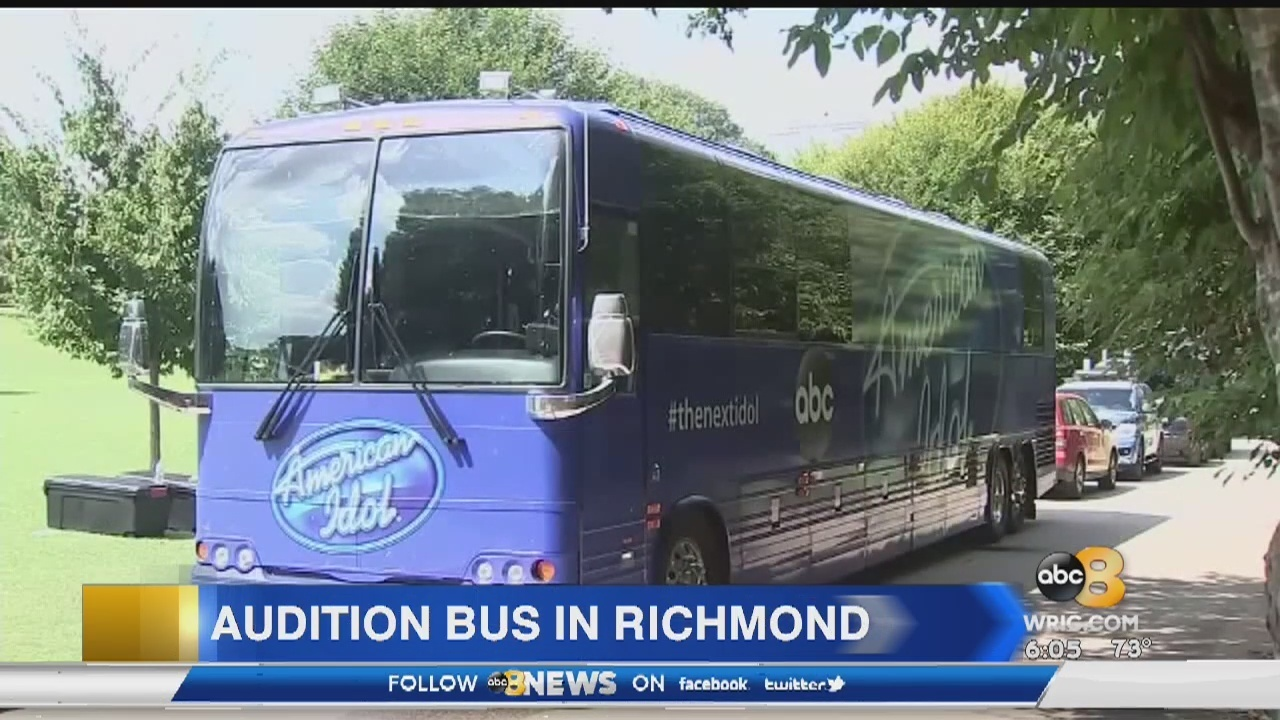 American Idol audition bus arrives in RVA