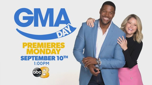 Michael Strahan and Sara Haines to co-host 'GMA Day'