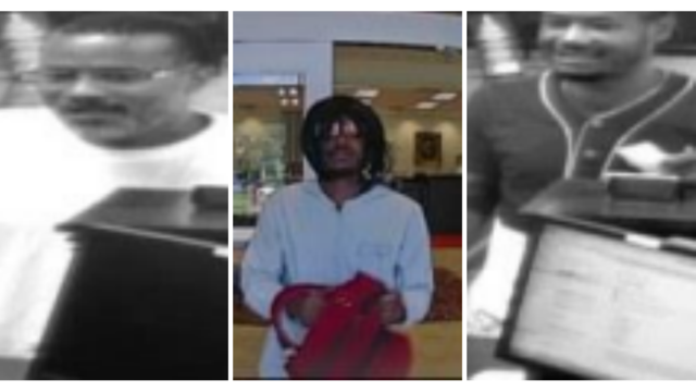 FBI search for suspects involved in Chesterfield attempted bank robbery, other suspicious incidents