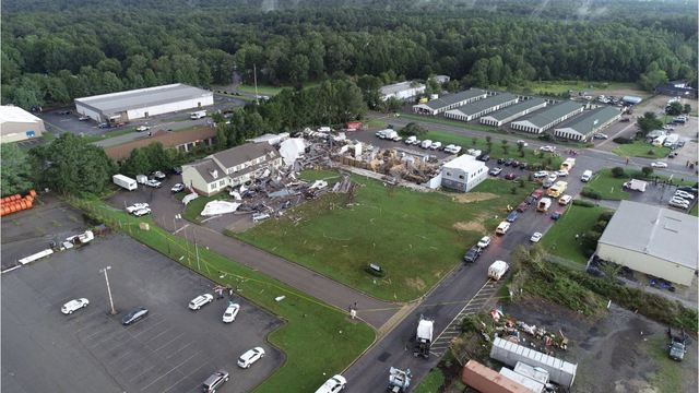 Nws Confirms 10th Tornado Touched Down In Virginia