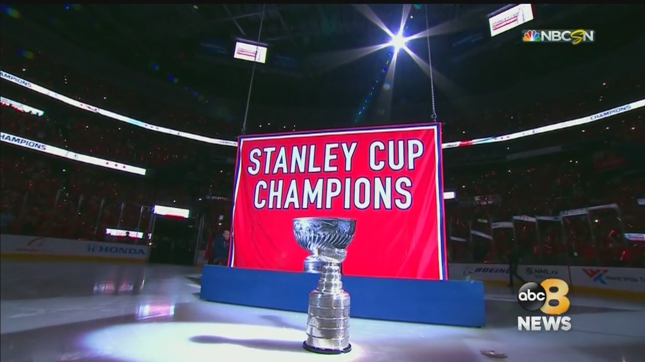 Capitals Raise Stanley Cup Banner c954cee2cc7