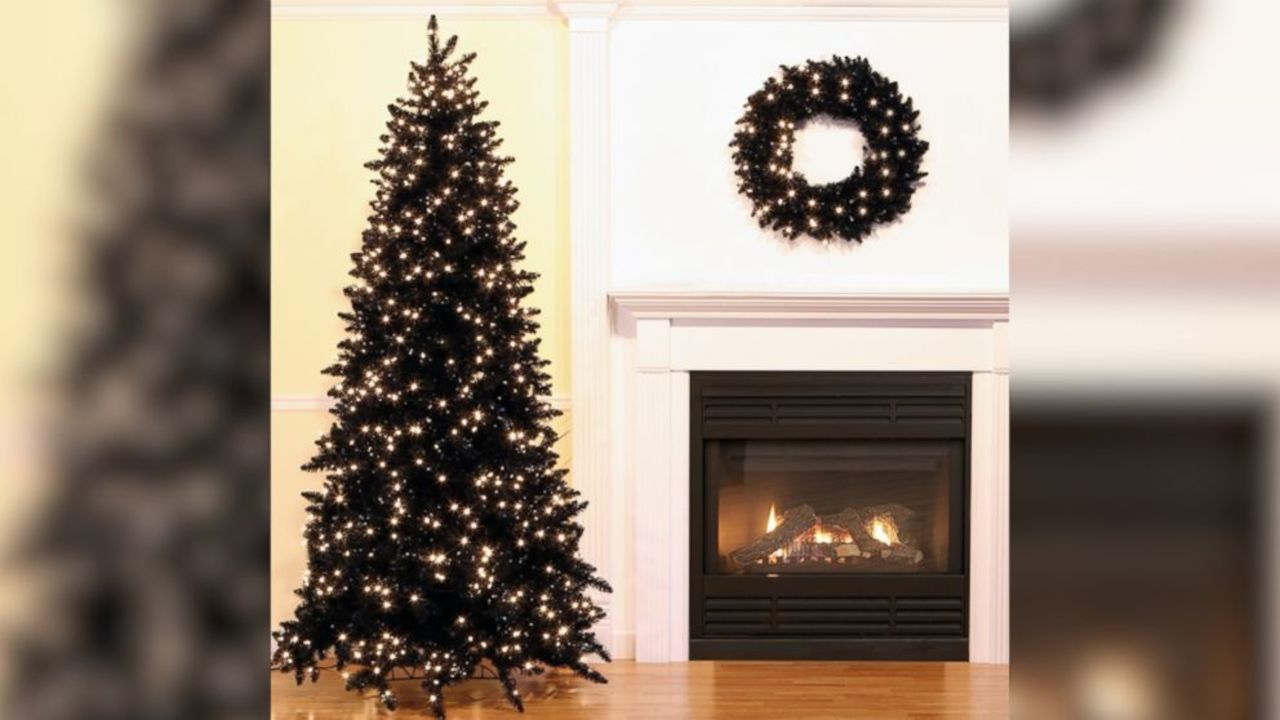 hot holiday decorating trend black christmas trees