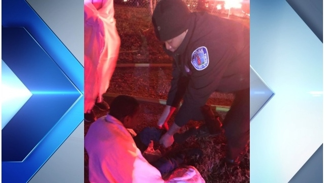 Positively Richmond: Officer gives barefoot boy socks during house