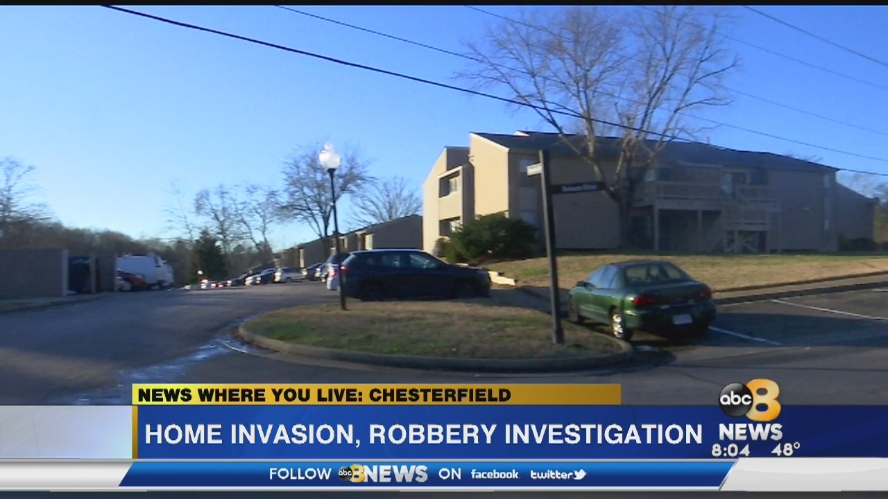 3 sought in violent Chesterfield home invasion, robbery