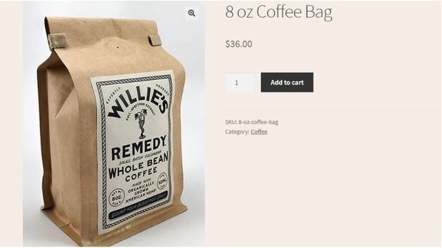 Country music legend Willie Nelson launches CBD-infused coffee