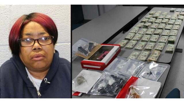 Hopewell woman charged after police seize drugs, cash and a gun during narcotics raid