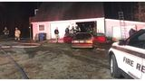 Powhatan resident displaced after trash fire spreads to home