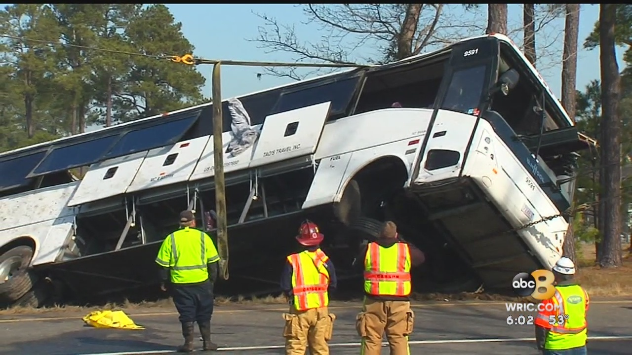 Police ID both passengers killed in I-95 bus crash