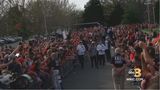 PHOTOS: UVA headed home with National Championship trophy