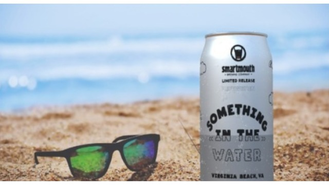 Special beer created for Something in the Water festival by local brewer Smartmouth