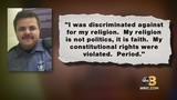 'I was discriminated against for my religion': Fired Virginia officer speaks out