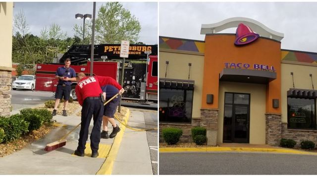 3 men seriously injured in shooting outside Petersburg Taco Bell