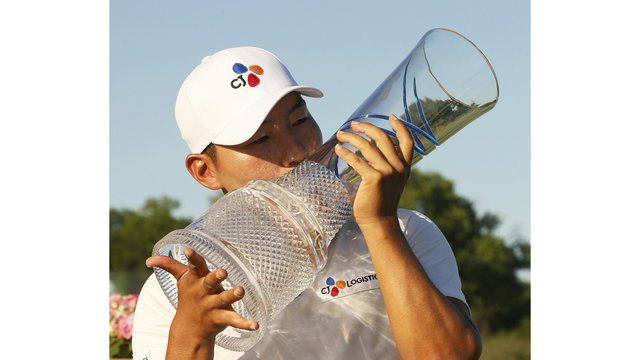Kang rallies again at Byron Nelson for 1st PGA Tour victory