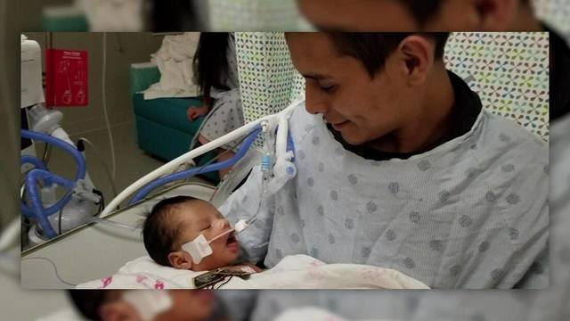 Baby cut from murdered Chicago mom's womb opens eyes for first time