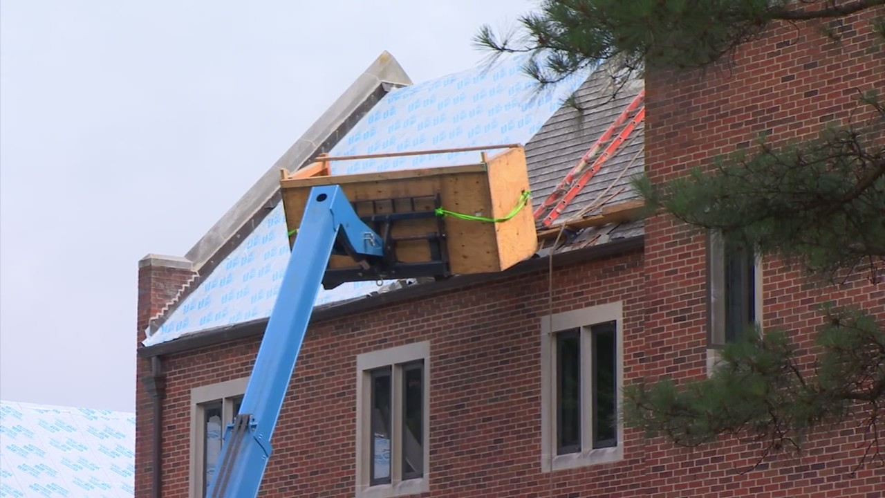 Contractor dies after falling 4 stories at University of Richmond work site
