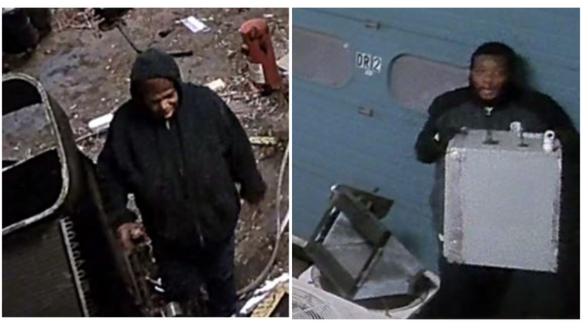 Suspects wanted for stealing HVAC unit parts from Richmond building